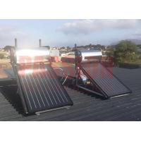 Buy cheap Closed Loop Circulation Rooftop Solar Water Heater , Solar Energy Flat Plate Water Heater from wholesalers