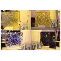 Buy cheap LED glass,Luminous glass, lighting glass, switchable glass, privacy glass for bar design from wholesalers