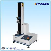 Buy cheap 5,10,20,25,50,100,200,500KG CAPACITY Floor Type Tensile Tester with Single Pole for Testing Rubber ,plastic from wholesalers