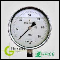 Buy cheap All stainless Oil filled pressure gauge price from wholesalers