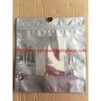 Buy cheap Customized Made  Underwear Plastic Poly Bags With Hangers Hook 3 Colors Gravure Printing product