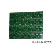 Buy cheap LF-HASL Surface Controller Circuit Board , 2 Sided Pcb FR4 ISO 14001 Certificated product