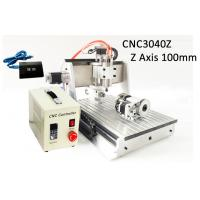 Buy cheap USB Controller 4 Axis Z axis Travel 100mm 3040 CNC Router 3D 800w Heighten Version product