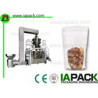 Buy cheap Pneumatic Pouch Packing Machine Doypack With Zipper Pouch Rotary Packing Machine from wholesalers