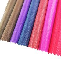 Buy cheap 70-110GSM eco material colorful carry bag non woven fabrics cheap pp nonwoven fabric from wholesalers