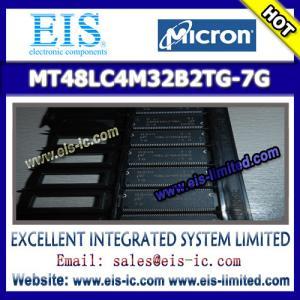 Buy cheap MT48LC4M32B2TG-7G - MICRON - SDR SDRAM MT48LC4M32B2 – 1 Meg x 32 x 4 Banks product