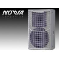 Buy cheap Black Powered Passive Pa Speakers Lightweight With 18mm Thick Plywood from wholesalers