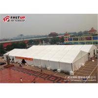 Buy cheap Big Outdoor Exhibition Tent Anodized Aluminum Alloy Frame No Deformation from wholesalers