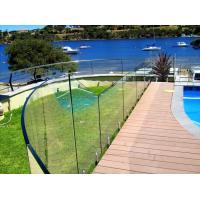 Australia Standard Swimming Pool Stainless Steel Frameless Glass Balustrade with AS/NZS2208