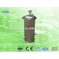 Buy cheap Industrial Water Inline Water Filters With Refillable Cartridges Housing from wholesalers