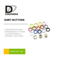 Buy cheap Electroplate, Paint Ring Snap Buttons Nickel - Free Silver Metal from wholesalers