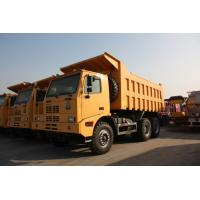 Buy cheap Yellow Heavy Duty Dump Truck / 10 Wheeler Dump Truck With Steel Cargo Box from wholesalers