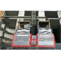 Buy cheap Hot Dipped Zinc Or Painted Building Site Hoist With 1000 kg Load Capacity from wholesalers