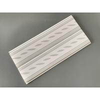 Green Leaf Kitchen Wall Cladding Panels , Plastic Wall Liner Panels