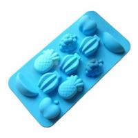 Buy cheap fruits shape silicone ice tray mold ,fruits shape silicone cake molds product