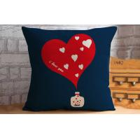 Buy cheap Home decor printed throw pillows for couch , Gardens Deep Seat Cushions Red 40CM from wholesalers