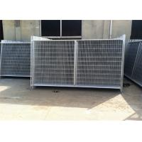 Buy cheap Professional Temp Fence Panels Free Standing Metal Fence 3.8mm Diameter product
