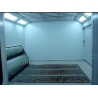 Buy cheap Electric Furniture Spray Paint Booth With Downdraft 24*5*3.2m from wholesalers