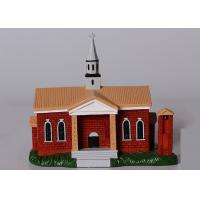 Buy cheap Poly Resin Decoration Crafts / Simulation Building Model Custom Service Available from wholesalers