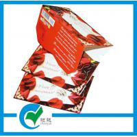 Buy cheap Personalised New year / Holiday / Greeting Card Stock Paper Printing from wholesalers