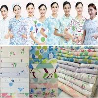 Buy cheap 2018 hot sale nurse work wear uniforms fabric for hospital and kitchen from wholesalers