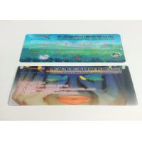 Buy cheap 0.6MM PET Flip Effect 3D Lenticular Business Cards UV CMYK Printing product
