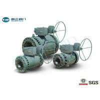 Buy cheap Flange End Trunnion Ball Valve , API 6D Three Piece Ball Valve 2 - 42 from wholesalers