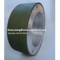 Buy cheap centerless Diamond Grinding Wheel carbide rod Diamond Centerless Grinding Wheels Anna.wang@moresuperhard.com from wholesalers