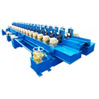 Buy cheap Fully Automatic Fire Damper Roll Forming Equipment Galvanized Coils PLC Control from wholesalers