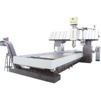Buy cheap Bridge Type Large Duty Gantry CNC Machine For Rgear / Engineer Machinery XQM-6080 from wholesalers
