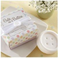 Quality hot sale Wedding Favors Scented Button Soap for sale