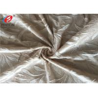 Quality Flower Embossed Crushed Velour Fabric Sofa Velvet Upholstery Fabric For Home Textile for sale