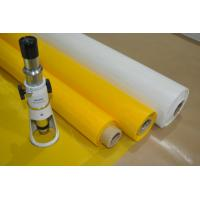 Buy cheap Monofilament Yarn Screen Printing Mesh 43T-80 Polyester Mesh Easy Cleaning from wholesalers