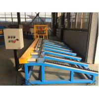 Manual / Hydraulic Steel Stud Roll Forming Machine Chain Drive 0.8mm Thickness