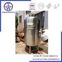 Buy cheap 100L - 500L Beer Fermentation Tank Stainless Steel Single One Vessel Home Restaurant from wholesalers