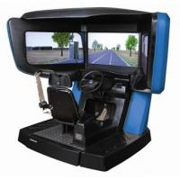 Buy cheap 180 degree car driving simulators , driver driving lesson simulator from wholesalers
