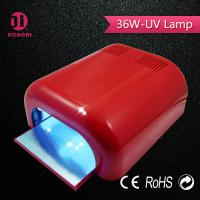 Buy cheap 2016 wholesale quality assured CE RoHS certificated 36w  nail gel UV lamp from wholesalers