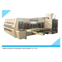 Buy cheap Lead Edge Feeder Print And Die Cut Machine Automatically For Making Carton Box from wholesalers