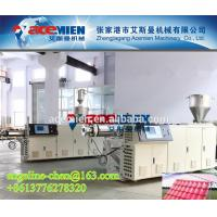 Buy cheap Plastic PVC+ASA/PMMA colonial/colony step roofing tile/panel/sheet extrusion machine product