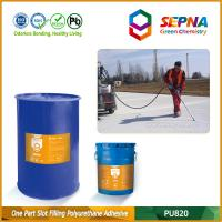Buy cheap Single Component Self-leveling Polyurethane Slot Filling Adhesive for Airport Runway PU820 product