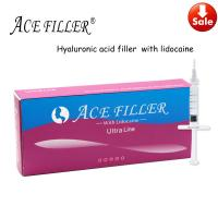 Buy cheap 1ml 2ml 5ml 10ml  Stable anti-aging 100%Pure Hyaluronic Acid Filler from wholesalers