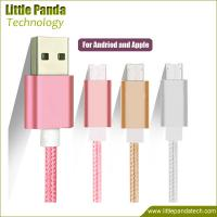Buy cheap High Quality Fast Charging Micro USB Cable Double Sided USB Data Cable 8pin+v8 for Android from wholesalers
