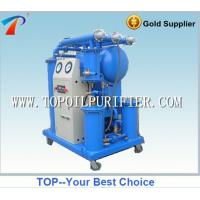 Buy cheap Single stage vacuum insulating oil purification machine, portable type, ready for operation from wholesalers