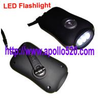 Buy cheap Dynamo LED Torch & Crank Flashlight from wholesalers