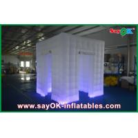 Buy cheap Custom White Inflatable Photo Booth Shell Enclosure Inflatable Cube Tent Portable from wholesalers