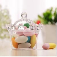 Buy cheap crown style sweet cake andy  chocolate food standard plastic packaging containers from wholesalers