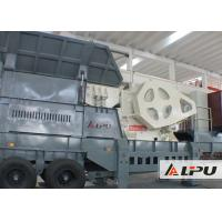 Buy cheap Medium Hard Limestone Mobile Crushing Plant for Road Construction from wholesalers