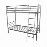 Buy cheap Metal Bunk Bed for Two Persons, 190 x 90 x 160cm with Mattresses, Sized 190 x 90cm from wholesalers