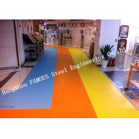 Buy cheap Heterogenous Equivalent Outdoors vinyl Laminate flooring roll Sports Flooring PVC Plastic Composite Material from wholesalers