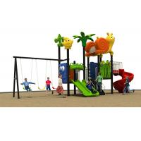 Buy cheap Preschool Kids Outdoor Plastic Slide Playground Equipment Anti - Static from wholesalers
